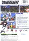Madden NFL 2004 Xbox Back Cover