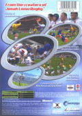 WCR: World Championship Rugby Xbox Back Cover