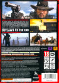 Red Dead Redemption Xbox 360 Back Cover