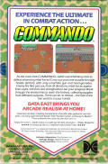 Commando PC Booter Back Cover