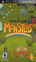 PixelJunk Monsters Deluxe PSP Front Cover