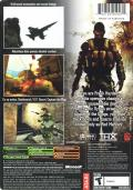 Shadow Ops: Red Mercury Xbox Back Cover