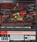 Splatterhouse PlayStation 3 Back Cover