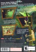 George of the Jungle and the Search for the Secret PlayStation 2 Back Cover