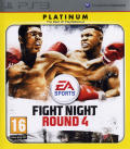 Fight Night: Round 4 PlayStation 3 Front Cover