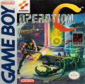 Operation C Game Boy Front Cover