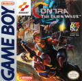 Contra III: The Alien Wars Game Boy Front Cover