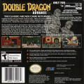 Double Dragon Game Boy Advance Back Cover