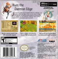 Summon Night: Swordcraft Story 2 Game Boy Advance Back Cover