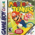 Mario Tennis Game Boy Color Front Cover