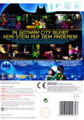 LEGO Batman: The Videogame Wii Back Cover