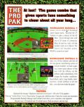 The Pro Pak DOS Back Cover