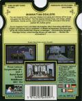 Operation: Cleanstreets DOS Back Cover