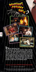 Who Shot Johnny Rock? 3DO Back Cover