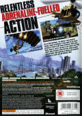 Just Cause 2 Xbox 360 Back Cover