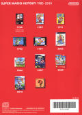 Super Mario All-Stars: Limited Edition Wii Other Mario History Keep Case - Back