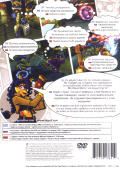 Sly 3: Honor Among Thieves PlayStation 2 Back Cover