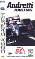 Andretti Racing SEGA Saturn Front Cover