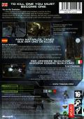 Terminator 3: The Redemption Xbox Back Cover