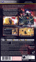 Lord of Arcana PSP Back Cover