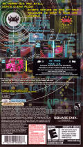Spac3 Invaders Extr3me PSP Back Cover