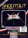 Shootout at the OK Galaxy Atari 8-bit Front Cover