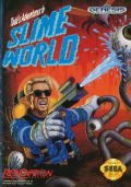 Todd's Adventures in Slime World Genesis Front Cover