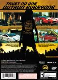 Need for Speed: Undercover PlayStation 2 Back Cover