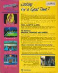 Leisure Suit Larry in the Land of the Lounge Lizards Apple II Back Cover
