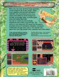 Jill of the Jungle: The Complete Trilogy DOS Back Cover