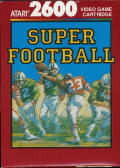 Super Football Atari 2600 Front Cover