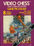 Video Chess Atari 2600 Front Cover