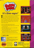 Bubble Bobble Game Gear Back Cover