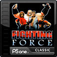 Fighting Force PlayStation 3 Front Cover