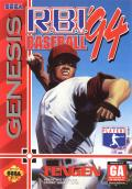 R.B.I. Baseball '94 Genesis Front Cover