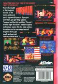 Foreman for Real Genesis Back Cover