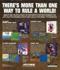 Conquer the World DOS Back Cover