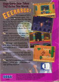 Taz in Escape from Mars Game Gear Back Cover