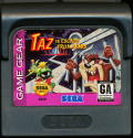 Taz in Escape from Mars Game Gear Media