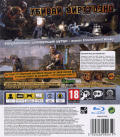 Bulletstorm PlayStation 3 Back Cover