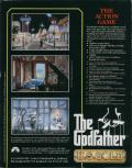 The Godfather: The Action Game DOS Back Cover
