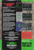 The Wizardry Trilogy: Scenarios I, II & III PC Booter Back Cover