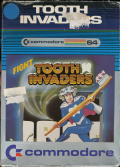 Tooth Invaders Commodore 64 Front Cover