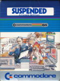 Suspended Commodore 64 Front Cover
