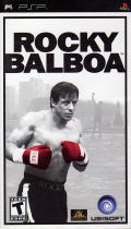 Rocky Balboa PSP Front Cover