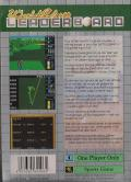 World Class Leader Board Game Gear Back Cover