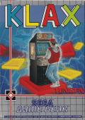 Klax Game Gear Front Cover