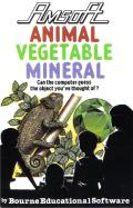 Animal Vegetable Mineral Amstrad CPC Front Cover