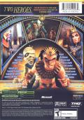 Sphinx and the Cursed Mummy Xbox Back Cover