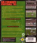 Ultimate Football '95 DOS Back Cover